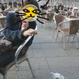 ベネツィア_サンマルコ広場の危険なカフェ